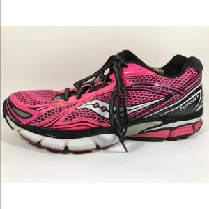 Saucony Hurricane 14 Running Shoes 10.5 Pink